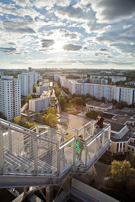 Blick auf die Großsiedlung Marzahn