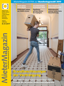 Titel MieterMagazin 8+9/2017