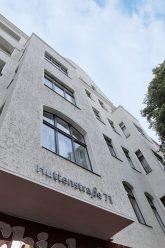 Hausfassade Huttenstraße 71