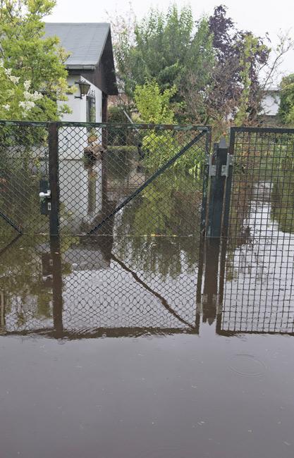 wasserschäden durch regenrinne