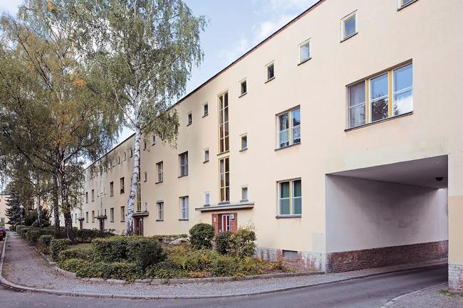 """Genossenschaft """"Freie Scholle"""" in Tegel"""