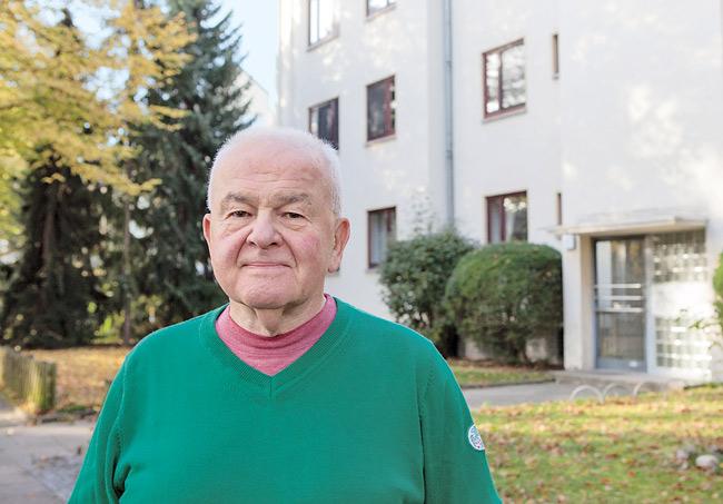 Hans Peter Stadtmüller aus der Sundgauer Staße