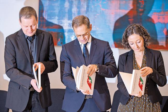 Vorstellung des Berliner Koalitionsvertrags