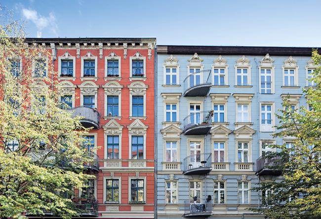 Häuser der Selbstbaugenossenschaft Rykestraße
