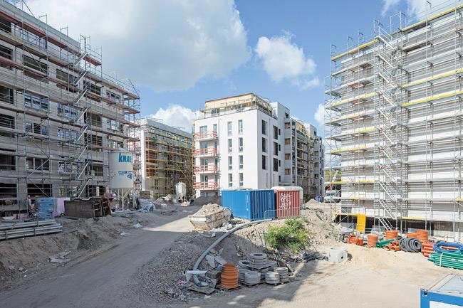 Genossenschafts-Neubau am Gleisdreieck-Park