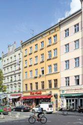 Häuser der 'Luisenstadt eG' am Heinrichplatz