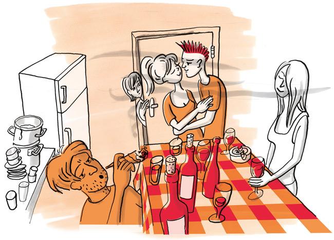 Illustration: Küchen-Fete