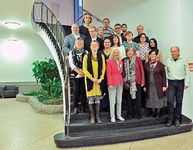 Mitglieder des Arbeitsgremiums zur Entwicklung der Leitlinien