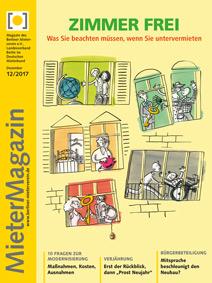 Titelblatt MieterMagazin 12-2017
