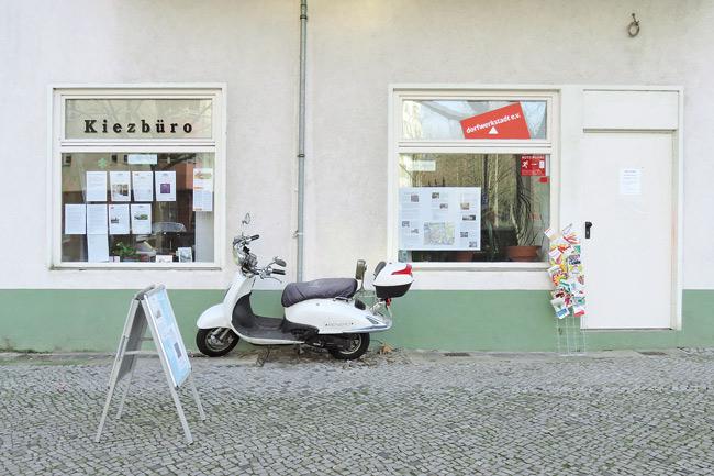 Kiezbüro in der Mierendorffstraße