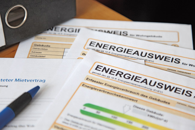 Energieausweis-Formulare