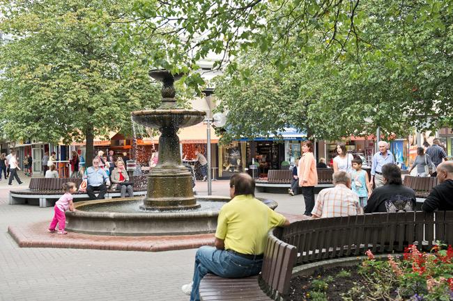 Springbrunnen im Märkischen Viertel