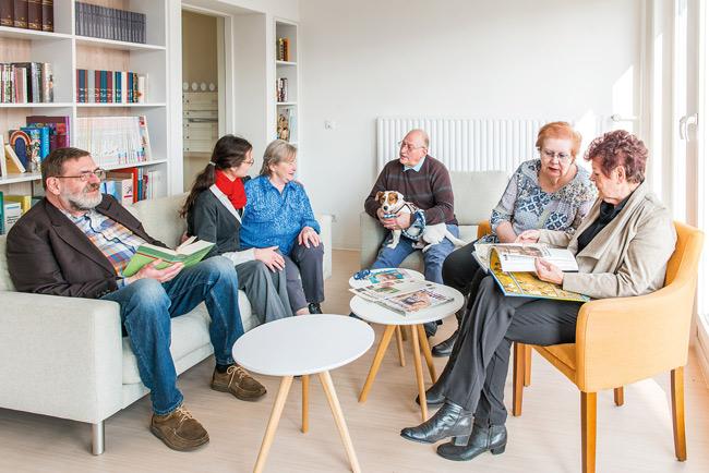 Seniorentreff im Wohn-Aktiv-Haus der Gewobag