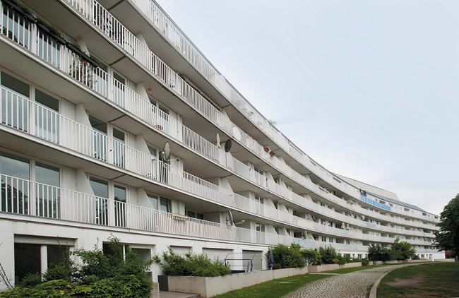 Sozialer Wohnungsbau im Fanny-Hensel-Kiez