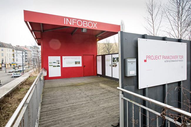 Infobox am Pankower Tor