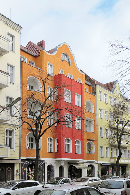 Fassade des Hauses Weserstraße 207