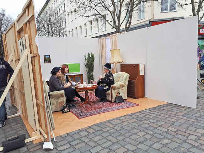 Demo-Spot mit 'Wilmersdorfer Witwen'