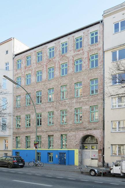 Leerstehendes Haus in der Perleberger Straße 50