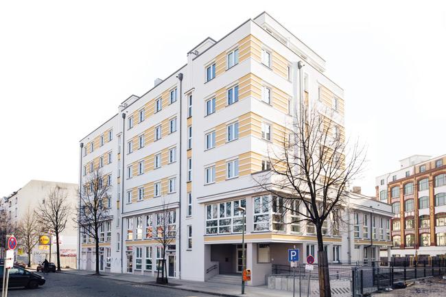'Freudenberg-Areal' in Friedrichshain