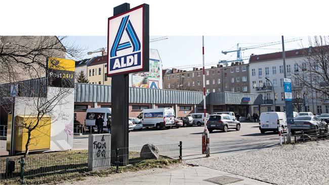 Fläche für geplantes Aldi-Wohnhaus in der Sewanstraße in Lichtenberg