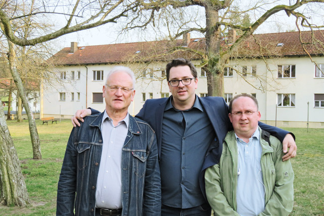 Steffen Unger (Mitte), Mitstreiter