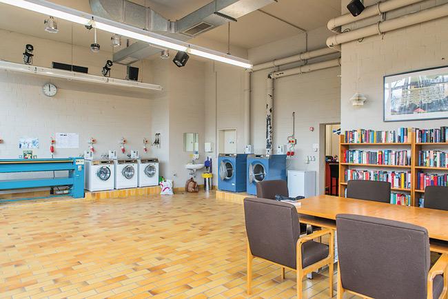 Waschsalon im Corbusierhaus