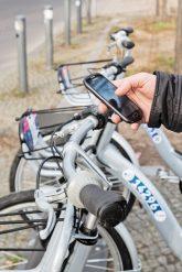 Leihfahrrad freischalten per Smartphone