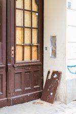 Haustür ohne Türgriff