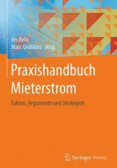 Titelseite des Buches 'Praxishandbuch Mieterstrom'