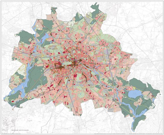 Flächennutzungsplan von 2015
