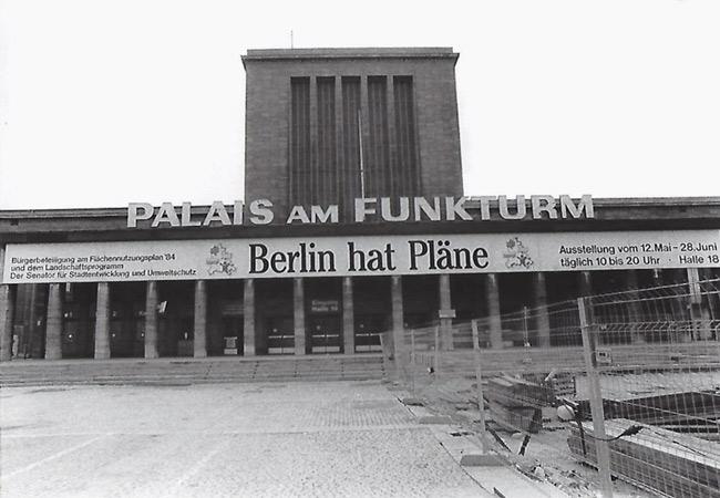 Ausstellung im Palais am Funkturm: 'Berlin hat Pläne'