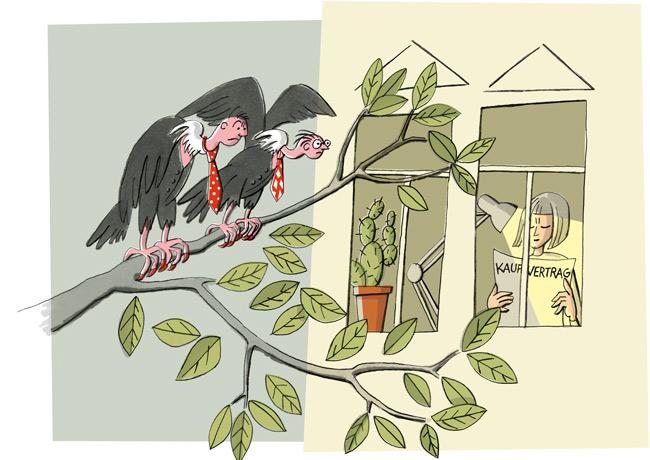 Illustration zum Vorkaufsrecht