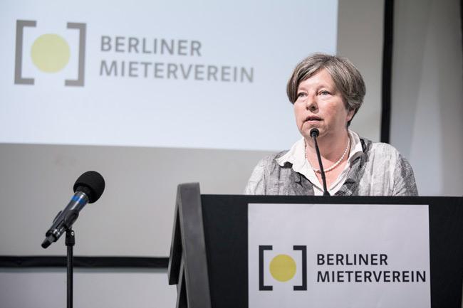 Senatorin für Stadtentwicklung und Wohnen, Katrin Lompscher