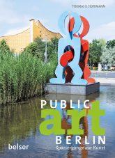 Titelseite des Buches 'PUBLIC art BERLIN'