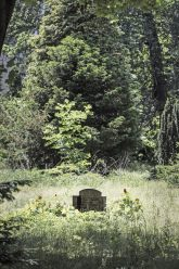 Alter Grabstein auf dem Neuen St.-Jacobi-Friedhof