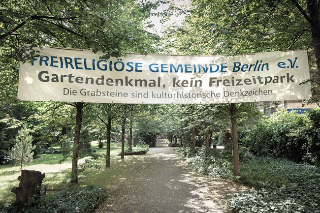 Transparent der Freikirchlichen Gemeinde