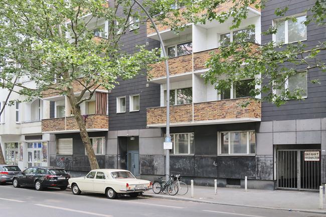 Hausfassade der Martin-Luther-Straße 17