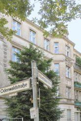 Leerstandshaus Stubenrauch-, Ecke Odenwaldstraße