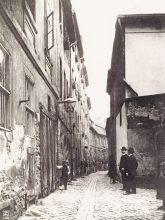Historisches Foto der Krögelgasse