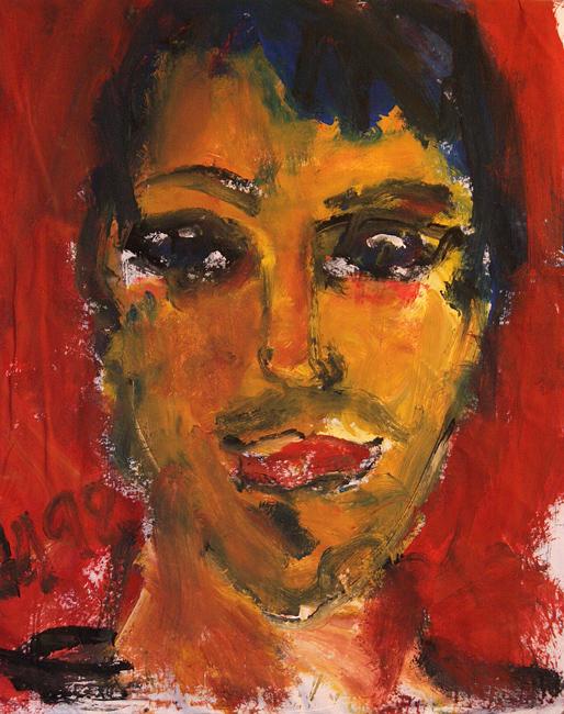 Gesichter – Arbeit von Klaus W. Hensel