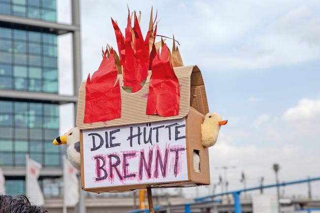 Mieterprotest: 'Die Hütte brennt'
