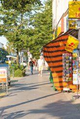 Kiosk in der Berliner Allee