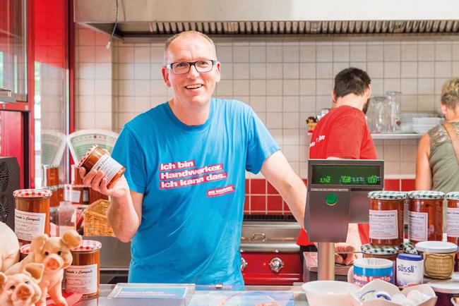 Jörg Oppen in Konnopke's Diner