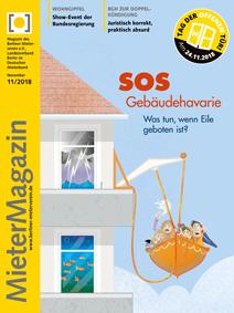 Titelseite MieterMagazin 11-2018