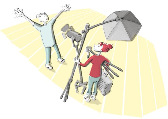 Illustration zum Fotobeweis
