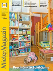 Titelseite MieterMagazin 12/2018
