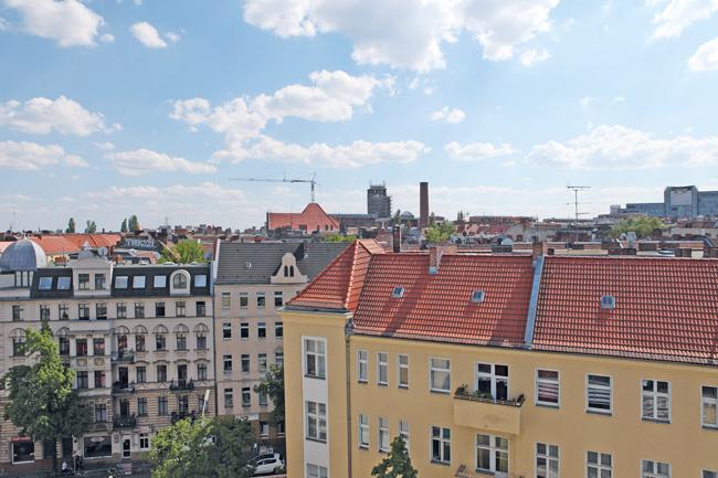 Mietshäuser im Milieuschutzgebiet in Nord-Neukölln