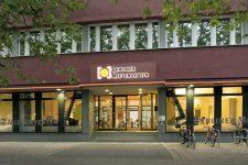 Eingang der Geschäftsstelle des BMV