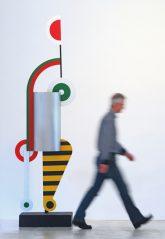 Skulptur 'Steppmaschine' (von Xanti Schawinsky)