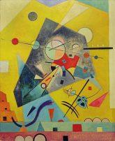 Ölbild 'Stille Harmonie' (von W. Kandinsky)